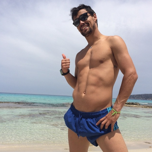 Fabio Fognini from his Instagram